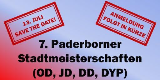 DTFB Challenger #7. Paderborner Tischfußball Stadtmeisterschaft