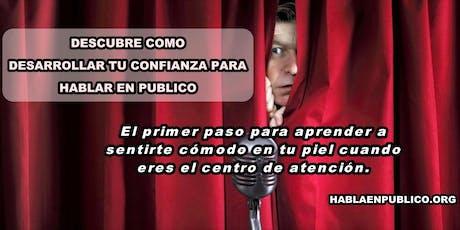 """CURSO  """"3 SECRETOS PARA HABLAR EN PUBLICO CON CONFIANZA EN CUALQUIER OCASIÓN, ANTE CUALQUIER AUDIENCIA"""". entradas"""