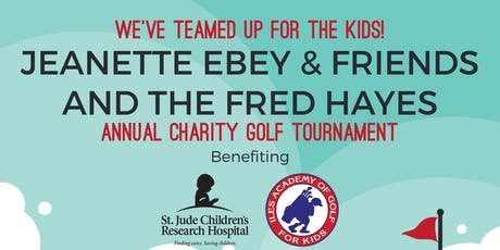 Annual Charity Golf Tourney for St. Jude Hospital tickets