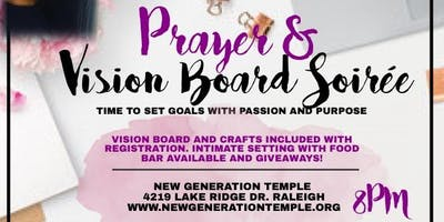 Prayer and Vision Board Soirée