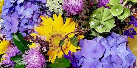 Floral Design with Summer Flowers Workshop tickets