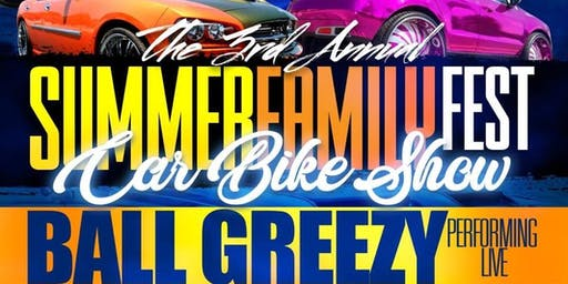 3rd Annual Summer Family Fest - Car & Bike Show