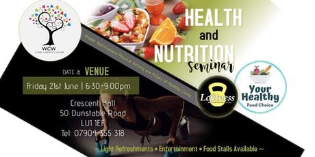 Health & Nutrition Seminar tickets