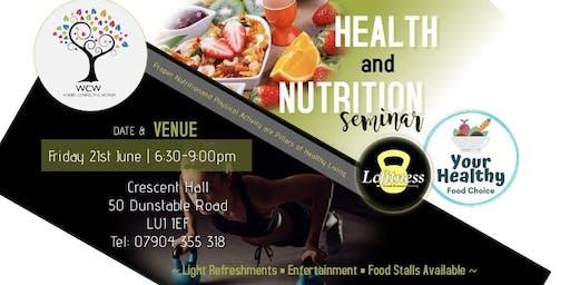 Health & Nutrition Seminar