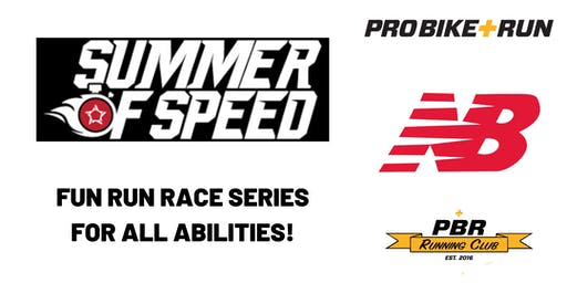 "New Balance ""Summer of Speed"" Race Series with Pro Bike + Run Robinson"