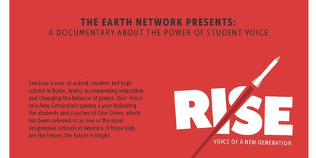 Rise: Voice of a New Generation Film Screening tickets