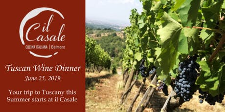 Tuscan Wine Dinner tickets