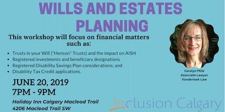 Wills & Estates Planning tickets