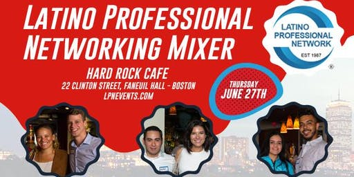 Latino Professional Networking Mixer in Boston