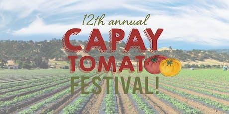 Capay Tomato Festival 2019 tickets