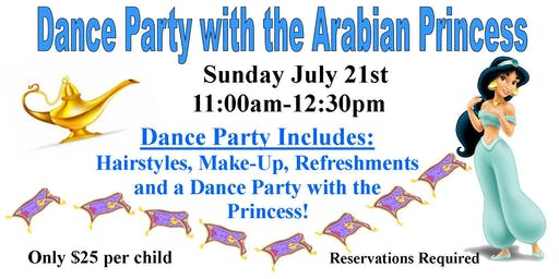 Dance Party with the Arabian Princess-SOLD OUT