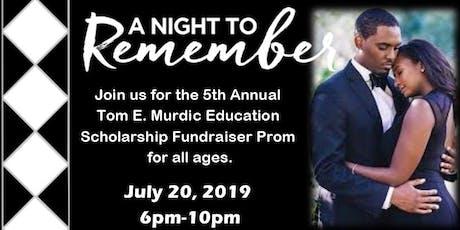 """""""A Midsummer Night's Dream"""" Scholarship Prom tickets"""