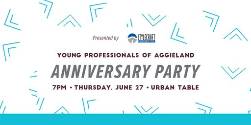 Young Professionals of Aggieland 8th Anniversary Party