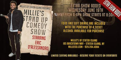 Comedy Show starring Eric D'Alessandro