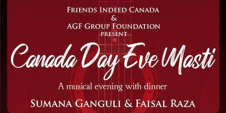 Canada Day Eve Masti tickets