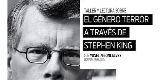 Taller y lectura el género terror a través del Stephen King.