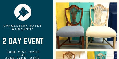 Paint Upholstery Workshop tickets