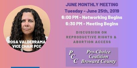 Democratic Women's Club of West Broward - Monthly Meeting tickets