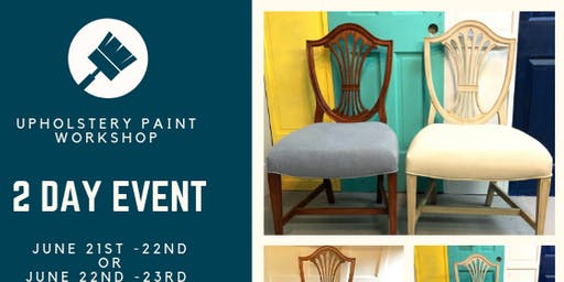 Upholstery Painting Workshop (2 day event)