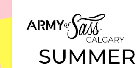 Army of Sass Calgary - SUMMER OF SASS - Level 2  tickets
