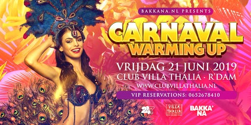 BakkaNa presents: Carnaval Warming-Up in Club Villa Thalia