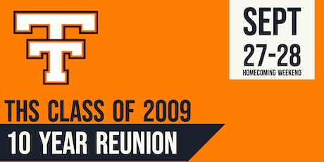 Tahlequah High School Class of '09 Reunion Weekend tickets