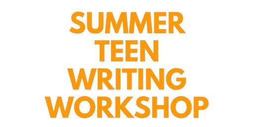 Summer Teen Writing Workshop