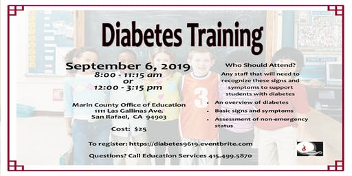 Diabetes Training 2019-2020