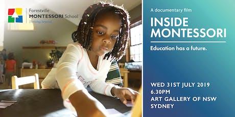 Inside Montessori - A Documentary Film Screening tickets