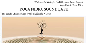 Yoga Nidra + Sound Bath