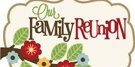 Edith McDaniel Family Reunion2 tickets