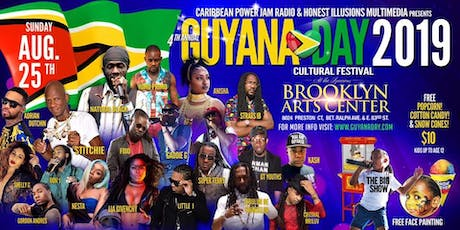 GUYANA DAY CULTURAL FESTIVAL tickets