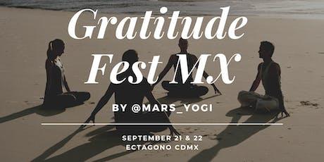 Gratitude Fest 2.0 MX entradas