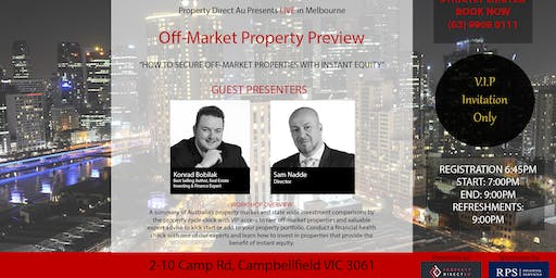 Off-Market Property Preview