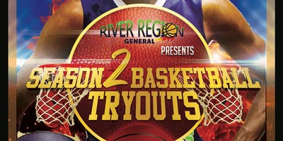 River Region Generals Season 2 Basketball Tryouts