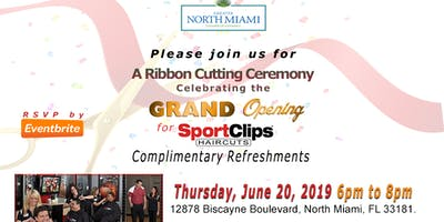 GRAND OPENING for SportClips HAIRCUTS