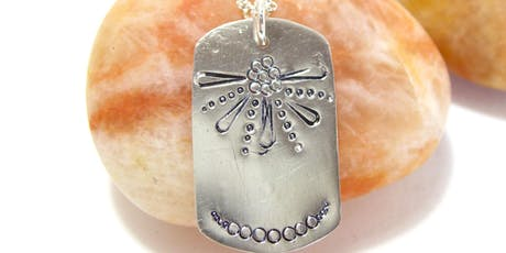 DIY Stamped Dog-tag Pendant - Jewelry Class  tickets