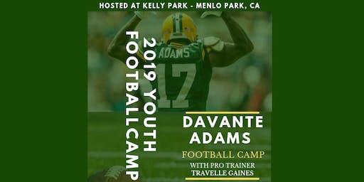 Davante Adams 2019 Football Camp