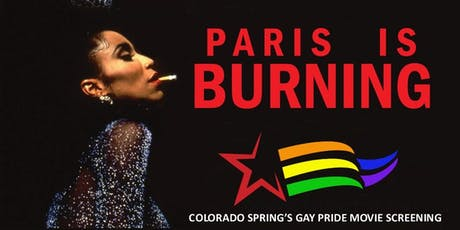 CULTURE CINEMA THE COLORADO SPRINGS GAY PRIDE MOVIE: PARIS IS BURNING (1990) tickets