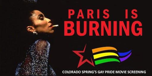 CULTURE CINEMA THE COLORADO SPRINGS GAY PRIDE MOVIE: PARIS IS BURNING (1990)