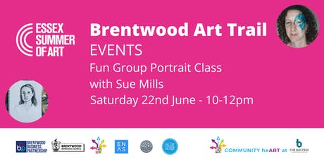 Fun Group Portrait Class with Sue Mills tickets