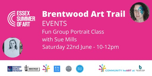Fun Group Portrait Class with Sue Mills