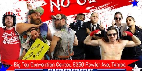 "Tampa Bay Pro Wrestling presents ""No Guts No Glory"" tickets"