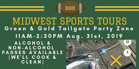 Green & Gold Tailgate Zone- Green & Gold Weekend tickets