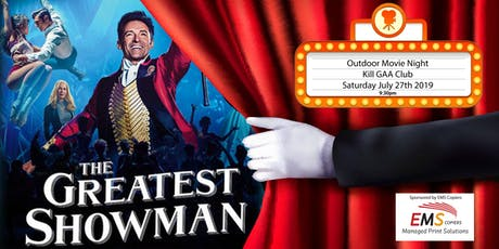 Outdoor Movie - The Greatest Showman tickets