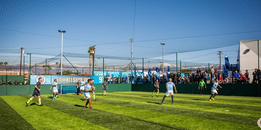 Manchester City Soccer Academy Launch Event at Goals South Gate
