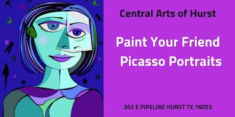 Paint Your Friend: Picasso Portraits tickets