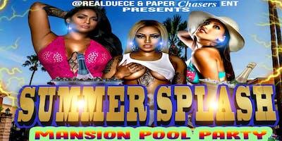 Summer Splash Mansion Pool Party