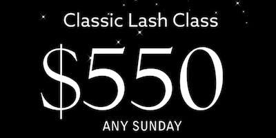 Classic Lash Class