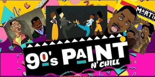 90s Paint n Chill DETROIT